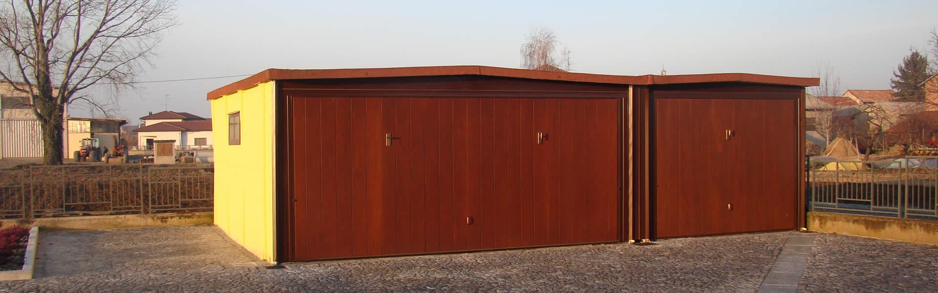 Box componibili auto garage prefabbricati