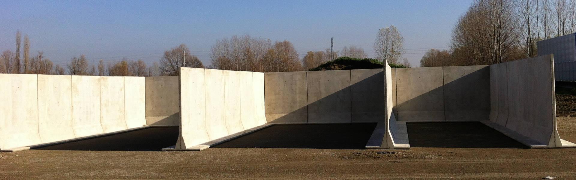 pannelli divisori prefabbricati in cemento armato