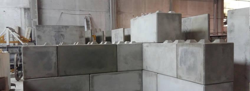 Blocchi Calcestruzzo Per Muri.Produzione Blocchi In Calcestruzzo Legoblock